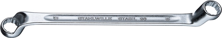 Stahlwille 20 Double ended ring spanners, 30 x 32, Length mm 365, No st_20_mas_052.jpg