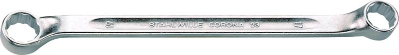 Stahlwille 23 Double ended ring spanners, 8 x 9, Length mm 179, No st_23_mas_052.jpg