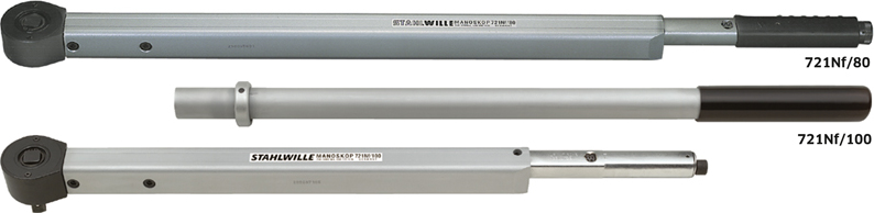 Stahlwille 721Nf Standard MANOSKOP® torque wrenches with permanently installed ratchet, size 80, 120-600 ft·lb, No st_721nf_mas_