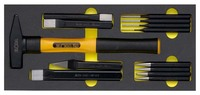 ELORA Hand striking Tool set, 13-pcs. module ELORA-OMS-8   161.65 US$137,31 EUR108.30 US$ 91,99 EUR incl. VAT., +  46.50 US$ shipping